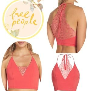⭐️ FREE PEOPLE The Century Brami-Raspberry